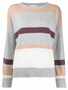 Fabiana Filippi striped jumper - Grey
