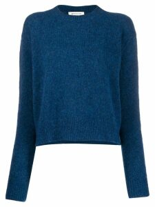 Masscob Hill crew neck jumper - Blue