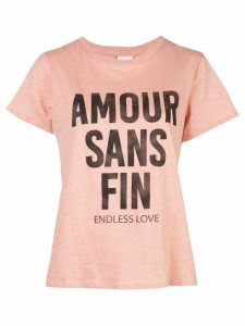 Cinq A Sept printed Endless Love T-shirt - PINK