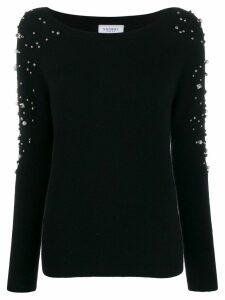 Snobby Sheep embellished knit sweater - Black