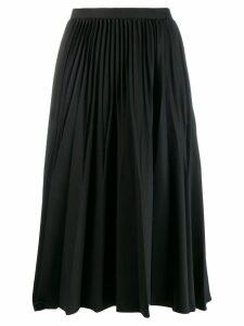 Kenzo pleated midi skirt - Black