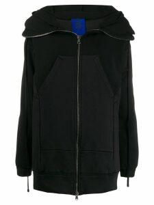 Ilaria Nistri oversized zipped hoodie - Black