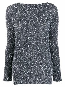 Snobby Sheep round-neck knit jumper - Black
