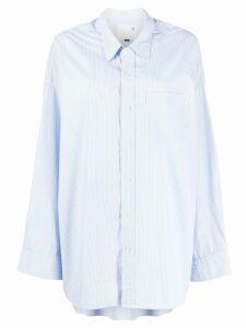 R13 oversized shirt - Blue