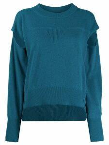 Diesel cut-out jumper - Blue