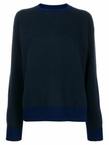 Sofie D'hoore knit colour combo sweater - Blue