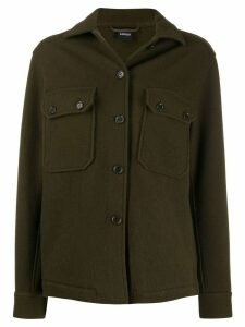 Aspesi fitted wool jacket - Green