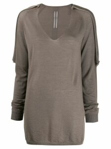 Rick Owens loose-fit cashmere jumper - Grey