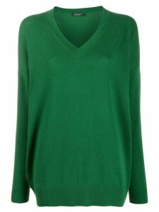 Aragona fine knit jumper - Green