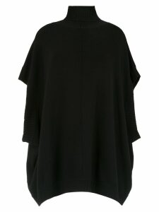 Gloria Coelho high neck oversized top - Black
