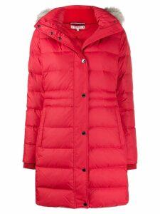 Tommy Hilfiger padded parka coat - Red
