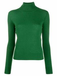Aragona roll neck jumper - Green