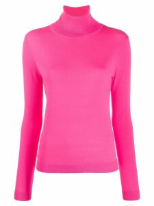 Aspesi roll neck jumper - PINK