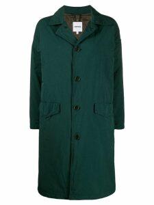 Aspesi Granata loose-fit raincoat - Green