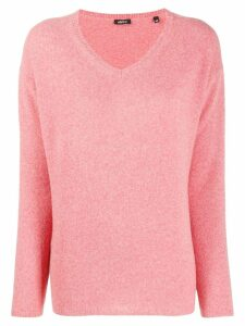 Aspesi v-neck jumper - PINK