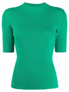 YMC short sleeved knitted top - Green