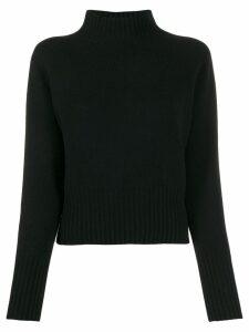 YMC knitted wool jumper - Black