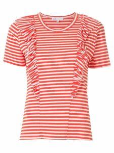 Nk John striped t-shirt - Red