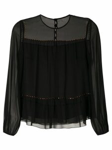 Nk Lumen Gabi silk blouse - Black