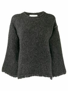 Fabiana Filippi loose-fit knit sweater - Grey