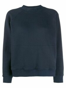 YMC long sleeved cotton sweater - Blue