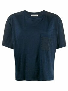 YMC short sleeved cotton T-shirt - Blue