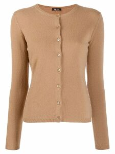 Aspesi cashmere slim-fit cardigan - Brown