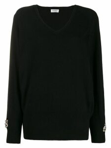 LIU JO V-neck jumper - Black