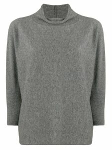 Fabiana Filippi roll neck top - Grey