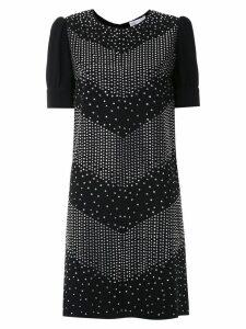 Nk Lumen Cassi crepe dress - Black