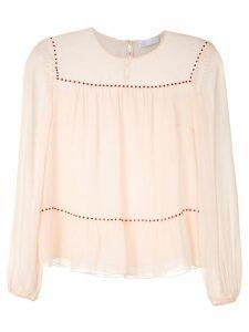 Nk Lumen Gabi silk blouse - PINK