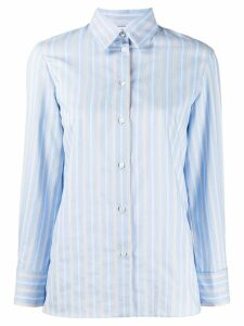 Sandro Paris long sleeve striped shirt - Blue