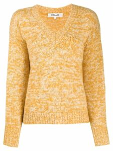 DVF Diane von Furstenberg V-neck sweater - Yellow