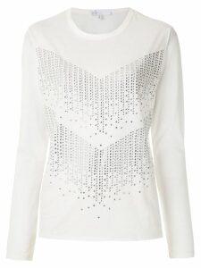 Nk Skin Tomas embellished T-shirt - White