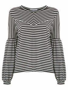 Nk Lea striped top - Black