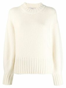 Pringle of Scotland chunky knit jumper - White