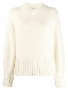 Pringle of Scotland chunky knit jumper - White