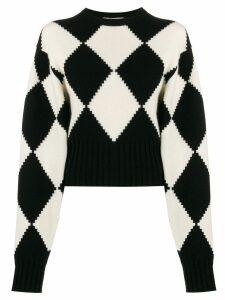 Pringle of Scotland Argyle short-length jumper - Black