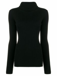 Pringle of Scotland ribbed slim-fit jumper - Black