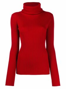 Pringle of Scotland slim-fit ribbed jumper - Red