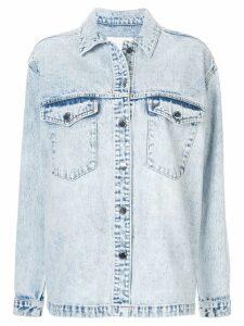 Nobody Denim Archer shirt jacket - Blue