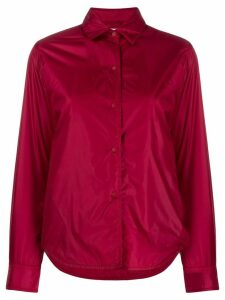 Aspesi snap button shirt jacket - Red