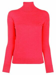 Ermanno Scervino turtleneck fine knit jumper - Red
