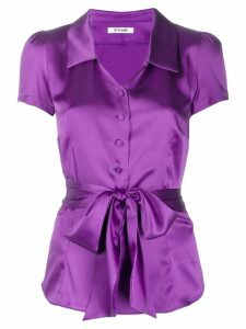 Styland short sleeved blouse - Purple