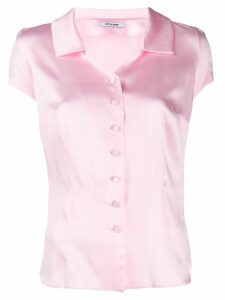 Styland short sleeved blouse - PINK