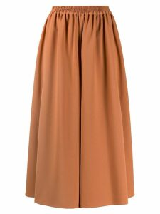 See by Chloé flared leg trousers - Brown