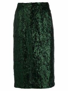 Nº21 sequin pencil skirt - Green