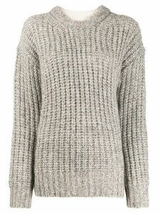 See By Chloé chunky knit jumper - White