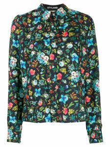 Styland floral print shirt - Blue
