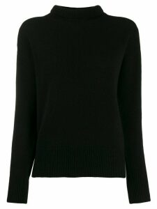 Blumarine roll neck jumper - Black